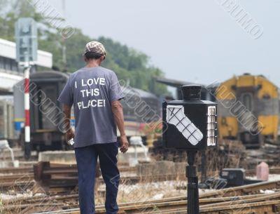 Railway lover
