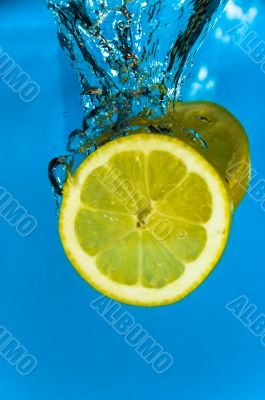 Refreshing Lemon Citrus Fruit