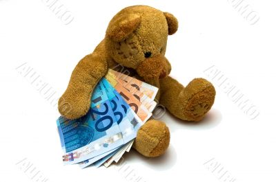 Euro Bear - Toy Teddy with Cash
