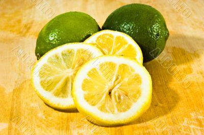 CItrus Lemon & Lime Fruit