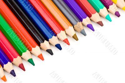 Colored Pencil Crayon Diagonal