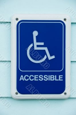 Disabled Access Symbol Sign