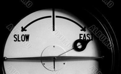 fast slow meter