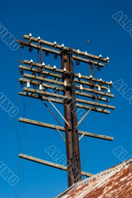Dissused Utility Pole