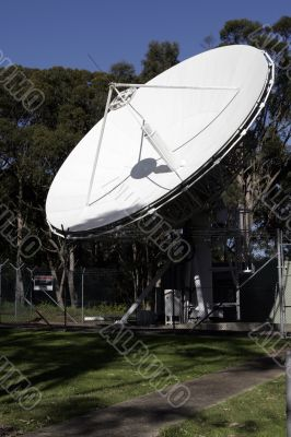 Communication Satellite Station
