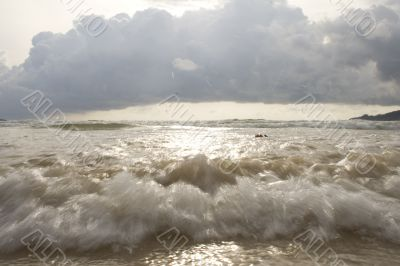 Surf on Patong Beach
