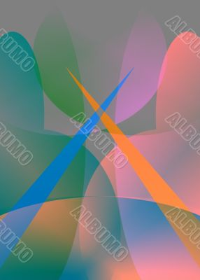 Crossed-swords Abstract