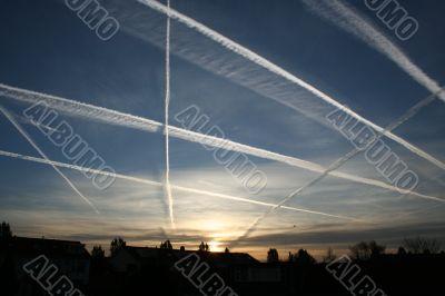 Stripes In The Sky