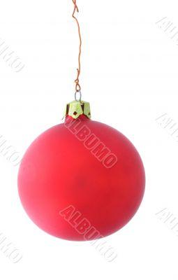 simple mat christmas ball