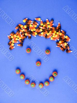 Candy Corn Head