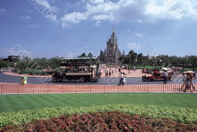 Castle in Theme Park