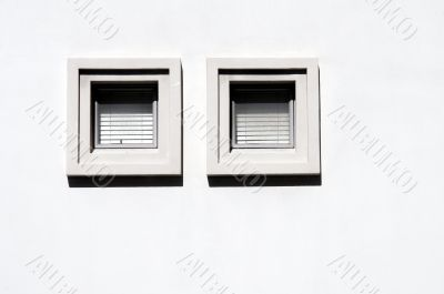Two Square Windows