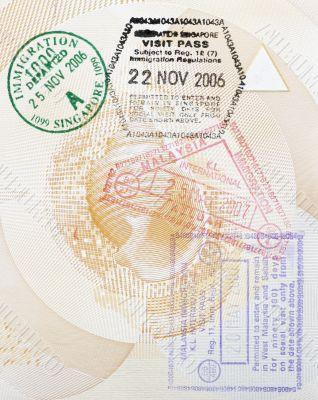 Custom Stamps In Passport