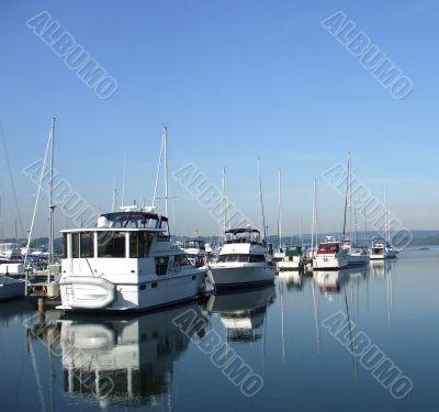 Still Waters at the Marina