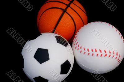 Sporty balls.