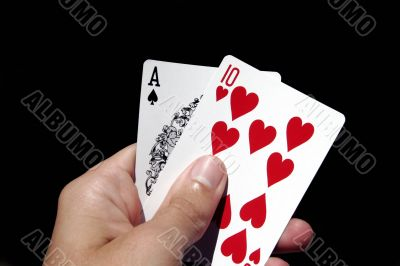 Gambling Cards In Hand