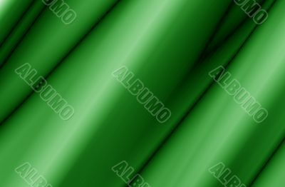 Green Fabric Abstract