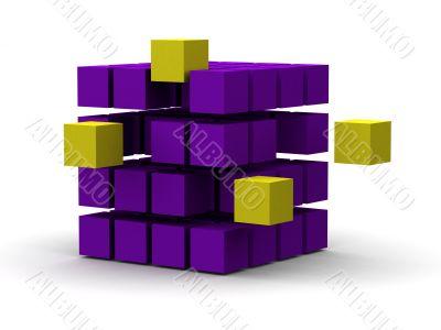 innovation 3d cubes
