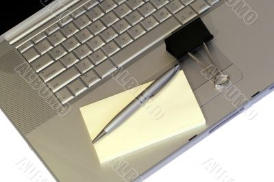 Laptop And Stationary