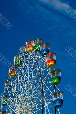 A Colourful Ferris Wheel at Luna Park, Sydney