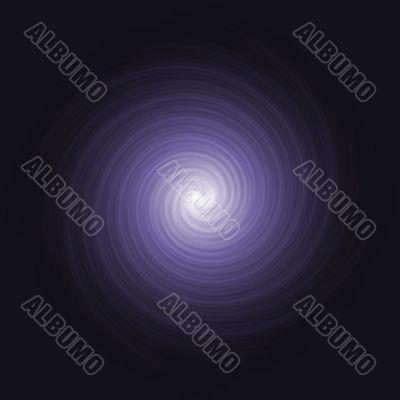Purple Space Twirl