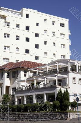Urban Apartment Building