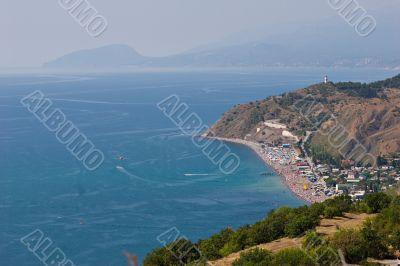 the South shore of the Crimea