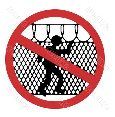 Do Not Access Warning Sign
