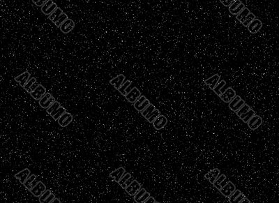 Dense star background