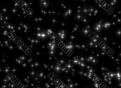 textured star field background