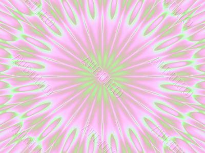 pink and green petals