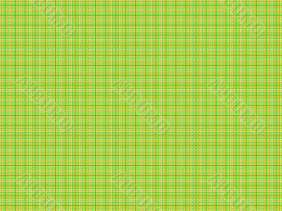 green and orange plaid on a white background