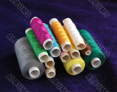 Colored sewing