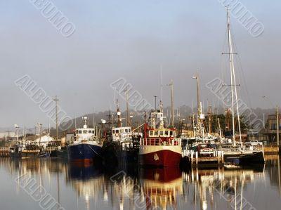 Boat Harbor at Lakes Entrance