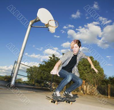 Teenage Skateboarder