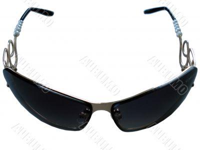 Anti-san female glasses