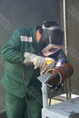 Welding of metal №1