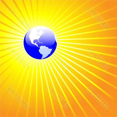 Shining World Earth AMERICAS