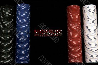 Casino Chips - Dice