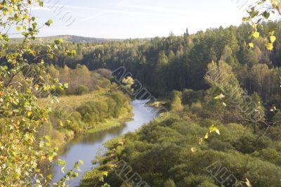 National reserve  Deer Streams The river Serga 10