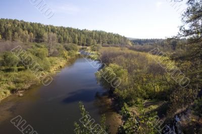 National reserve  Deer Streams The river Serga 3
