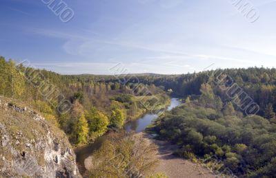 National reserve  Deer Streams The river Serga 8