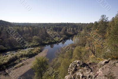 National reserve  Deer Streams The river Serga 9