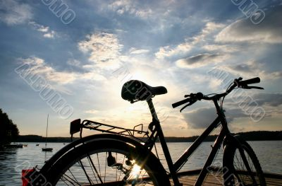end of a bike trip
