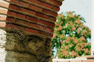 Ancient brickwork