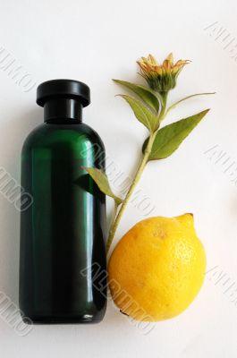 Oil, lemon and sunflower