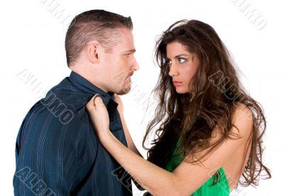 Fighting couple