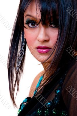 Glamorous Indian woman