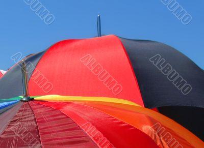 colourful summer umbrellas