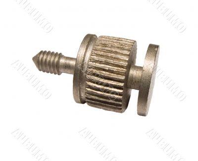 Technical metal bolt sideways